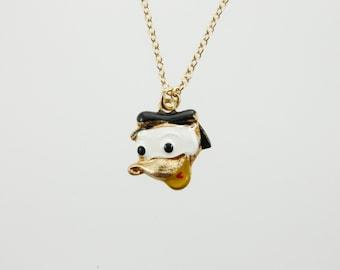 Vintage Donald Duck Necklace