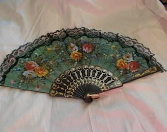 Beautiful Vintage Cloth Designed Fan-F5
