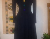 Chakra clown dress