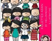 Melonheadz: Kidlettes Asian Combo Pack
