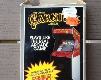 Carnival by Sega Video Cartridge for ColecoVision