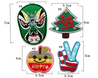 Clearance Sale-20% off Iron On Patch Embroidery Applique Sew On Patch Applique Embroidery