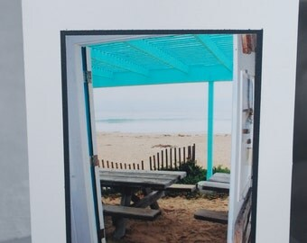photo card, Crystal Cove, California beach photography