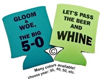 50th Birthday Can Insulator
