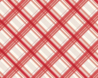 British Invasion Red Plaid by Riley Blake