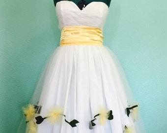 Gabriela Prom Dress - 1950s vintage inspired custom handmade