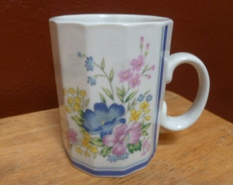 Otagiri Flower mug 12 sided