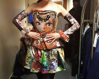 Blythe Doll inspired corset