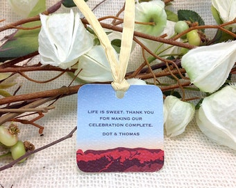 2x2 Gift Tags Sandia Mountains: Get Started Deposit