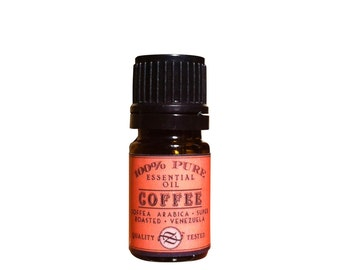 Coffee Essential Oil, Coffea arabica, Venezuela - 5 ml