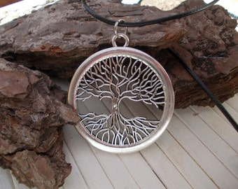 Tree of Life necklace,stainless steel