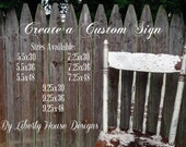 Create a Custom Personalized Sign Your Saying or Quote Great Gift Anniversary Wedding Housewarming Routed or Straight Edge 5.5x30 to 9.25x48
