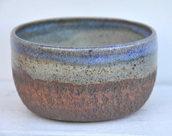 Pottery Bowl, Ceramic Bowl, Chatter Bowl, Handmade Bowl