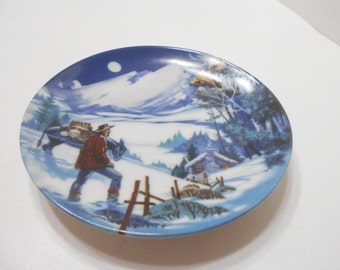 Vintage 1985 Avon American Portraits Plate Collection (12) The Rockies