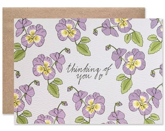 Thinking of You Violets