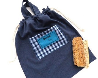 bread tote shopping bag cotton tote eco friendly bag