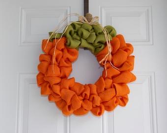 pumpkin wreath/Fall wreath