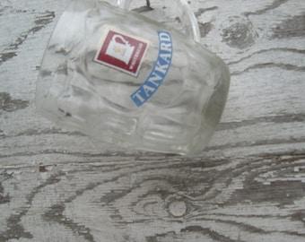 Vintage Whitbread tankard  pint pub glass
