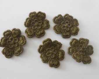 5 lace flowers for your creations