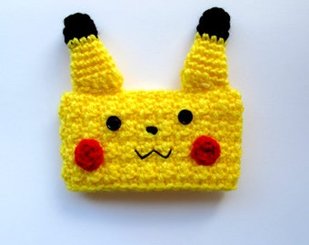 Pikachu Crocheted Coffee Cup Cozy