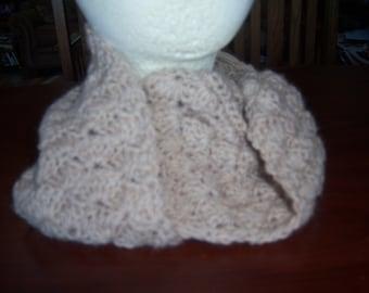 Hand crocheted Alpaca Cowl