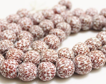 African Glass Beads (12), Recycled Beads, Ethnic Beads (R145)