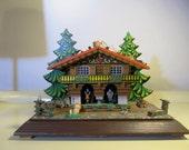 Vintage TOGGILI West German Black Forrest Chalet House Weather  large size    Made in Germany