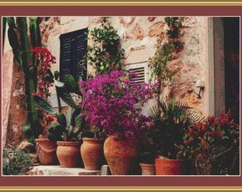 Tuscany Beauty Cross Stitch Pattern