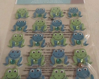 Froggie Stickers by Jolee's Boutique