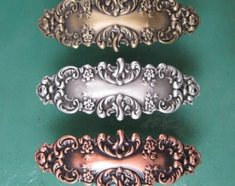Victorian French Barrette 60mm-Hair Accessories- Hair Clips- French Clips- Small French Barrette
