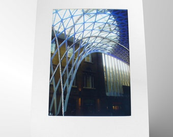 "Framed Photo 4x3"", Architecture Photography, City Photography,Bead Embroidery Picture,Urban Wall Art,London Photography,Fine Art Photography"