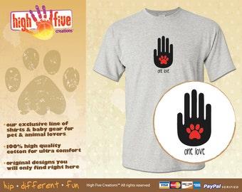 Dog T-Shirt - One Love