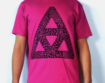 SALE Matrix pink and black T-shirt