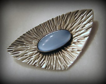 """Vintage ULRICH/DENMARK Sterling Silver Brooch -- Over 2"""" Long, 12.1 Grams, Excellent Condition, Matching Earrings Available!"""