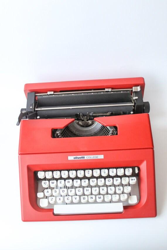 Olivetti College Or Lettera 25 Include Ribbon Black Amp Red