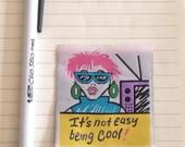 Vintage Fashion Label/ Sewing Label/ Designer Label/ 80s Label/ 90s label/ Sewing/ DIY/ Woven Label/ Sewing/ Being Cool/