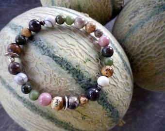 Mixed different Bead Bracelet