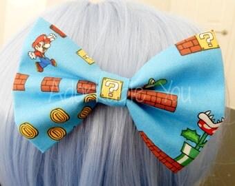Super Mario Hair Bow