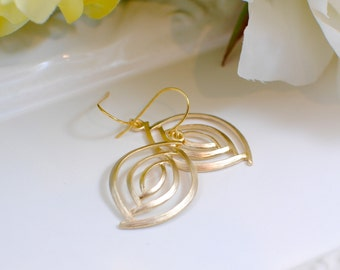 The Jacinta Earrings - Gold