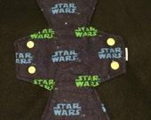 "10"" moderate star wars flannel cloth pad"