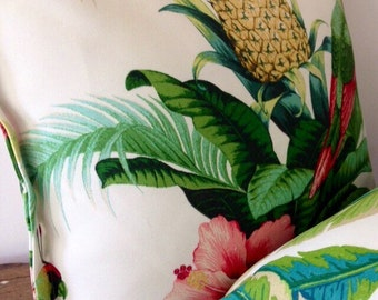 ON SALE Tommy Bahama Tropical Indoor / Outdoor Cushion cover.