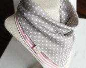 NEW/All-IN-1 Baby toddler REVERSIBLE bandana bib-scarf-drool bib/burp cloth /wipe cloth/hand towel/