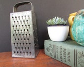 Metal Grater Vintage Cheese Grater Rustic Kitchen Farmhouse Decor