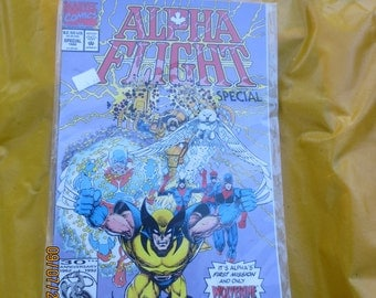 ALPHA FLIGHT SPECIAL issue 1992 mint in plastic never read box 1