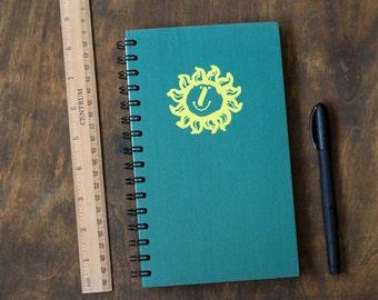 """Wire Bound Journal Tartuensis College """"Sun"""", College Notebook"""