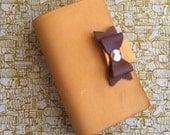 Yellow Bow leather FauxDori Toby Dori
