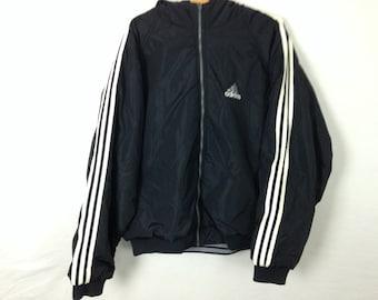 90s reversible adidas windbreaker jacket size XL