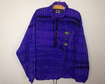 90s gotcha windbreaker jacket size S/M