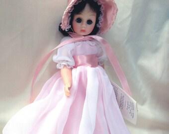 """Madame Alexander / Pinkie 12"""" / Original Box / Brunette Doll"""