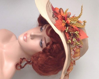 Autumn Maiden Picture Hat